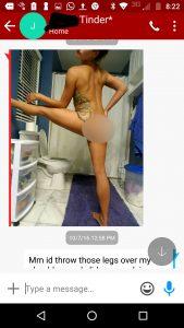 Photos naked tinder Tinder Amateur