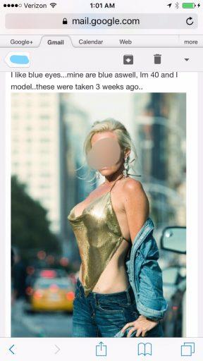 Craiglist blonde big tits