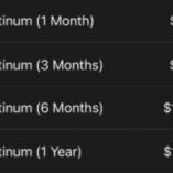 TInder-Platinum-Cost
